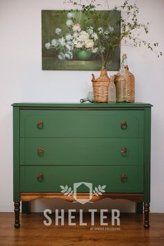 SHELTER by Spruce Collective - Furniture Paint - Made in Canada - EVERGREEN