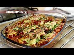 Enchilada drobiowa :: Skutecznie.Tv [HD] - YouTube Polish Recipes, Polish Food, Mexican Food Recipes, Ethnic Recipes, Enchiladas, Lasagna, Quiche, Cauliflower, Zucchini