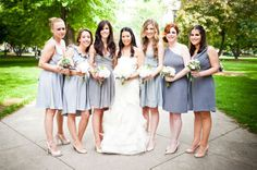 Choosing your bridesmaids can be a tough task, but we have tips to make it less painful!