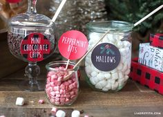 Birthday Party Food For Adults Families Hot Chocolate Ideas Party Food For Adults, Dad Birthday Cakes, Birthday Bash, Hot Chocolate Bars, Chocolate Party, Gingerbread House Parties, Hot Cocoa Bar, Free Christmas Printables, Christmas Crafts