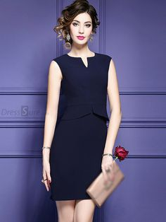 Buy Fashion V-Neck Sleeveless Bodycon Dress with High Quality and Lovely Service at DressSure.com