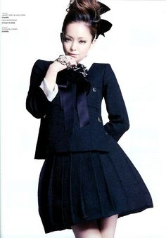 """fakedelica:  pinto:  nashi-kyo:  petapeta:  ku:  kazukij:  maisukiyo:  girlyfolklore:  nepotism:  Namie Amuro for CHANEL   I love this woman.   (via nepotisme)  (via kazukij)(via ku)(via petapeta)(via nashi-kyo)(via pinto)(via fakedelica)  """
