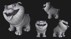 Dog Wireframe   by Sivan Baron