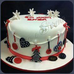 Christmas cake concept