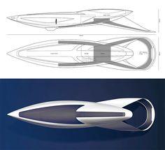 Futurix: McLaren Volare, un concept yacht da fantascienza
