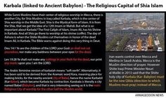 Karbala: The Final Destination of Islam under Antichrist? | The Coming Bible Prophecy Reformation