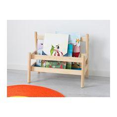 FLISAT Boekenstandaard IKEA Op deze boekenplank kan je kind zijn boeken verzamelen en zonder hulp pakken.