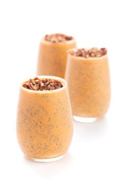 Pumpkin Pie Chia Seed Pudding (Vegan) - The Lemon Bowl® Healthy Food List, Good Healthy Recipes, Healthy Breakfast Recipes, Healthy Foods To Eat, Vegetarian Recipes, Vegan Pudding, Chia Pudding, Vegan Pumpkin Pie, Pumpkin Recipes