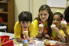 Fun during snack time at VBS! See Snack Leader for recipes and details. cokesburyvbs.com