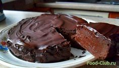 Шоколадный торт (диета Дюкана) / Диетические рецепты / Кулинарные рецепты - Фуд-клаб.ру