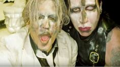 "Marilyn Manson Premieres ""SAY10"" Starring Johnny Depp"