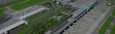 Para el cierre de 2017, el Aeropuerto El Dorado contará con 223.700m², 41 posiciones de contacto y la capacidad de atender a 40 millones de pasajeros al año.  ► ¿Conoces la Ampliación del Aeropuerto El Dorado? Blog, Airports, Advertising, Blogging
