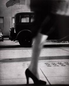 Lisette Model, Running Legs, New York, 1940. Gelatin silver print, 39 3/4 32 in. International Center of Photography, Gift of Lisette Model Foundation in memory of Joseph G. Blum, 1993. ©The Lisette Model Foundation, Inc. (1983).