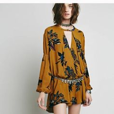 Free People Electric. Orchid tunic Amber combo. New wit tags Free People Tops Tunics