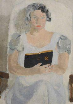Portrait of a Lady...Winifred Nicholson