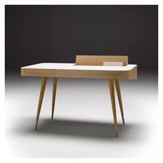 Buy the Corian & Oak Desk from Søren Nissen & Ebbe Gehl and more online today at The Conran Shop, the home of classic and contemporary design Contemporary Furniture, Contemporary Design, Workspace Inspiration, Corian, Scandinavian Style, Solid Oak, Designer, Interior Design, Elegant