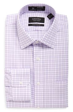 Nordstrom Men's Shop Smartcare™ Traditional Fit Plaid Dress Shirt available at #Nordstrom
