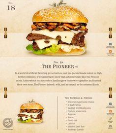 40 Of The Delicious-Looking Cheese Burger Combinations Ever - UltraLinx Burger Menu, Gourmet Burgers, Burger Recipes, Junk Food, Burger Seasoning, Homemade Burgers, Good Food, Yummy Food, Delicious Burgers
