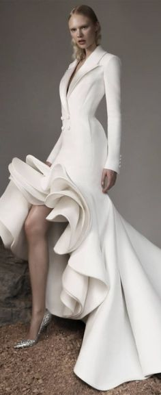 Ashi Studio Fall 2020 Couture Ashi Studio, Design Crafts, What To Wear, Gowns, Formal Dresses, Hunters, Style, Paris, Fall