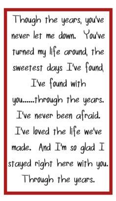 Kenny Rogers - Through the Years - song lyrics, music lyrics, songs, music quotes, song quotes