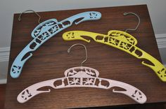 Vintage Baby Toddler Clothes Hangers Nursery Accessories on Etsy, $10.00