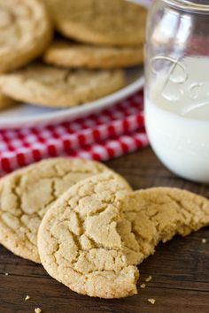 My new go-to cookie recipe! Soft, chewy and rolled in sugar, these perfect peanut butter cookies are just that... perfect!