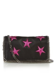 Falabella faux-leather clutch by Stella McCartney