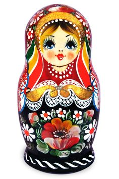 Matryoshka - Flowers