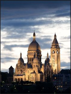 Sacre Coeur Basilica, Paris, France. Go to www.YourTravelVideos.com or just click on photo for home videos and much more on sites like this.