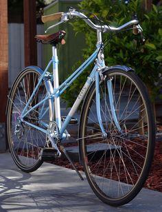 1984 Miyata Ninety, With Some Serious Upgrades Townie Bike, Pink Bike, Retro Bike, Push Bikes, Bicycle Women, Commuter Bike, Custom Paint Jobs, Bicycle Design, Vintage Bicycles