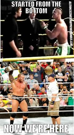 Randy Orton & John Cena - then and now! (10 years in the making)