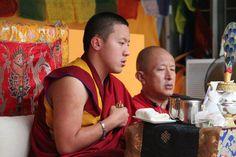 Dilgo Khyentse Yangsi Rinpoche with Dzongsar Yamyang Khyentse Rinpoche
