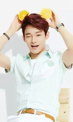 Chen (Kim Jongdae). This picture is perfect in every way...
