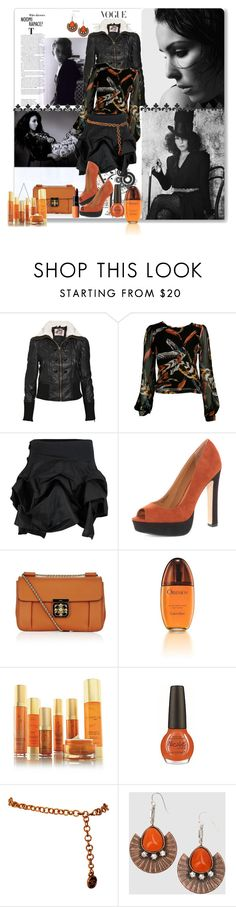 """Girl Crush: Noomi Rapace"" by terrelynthomas ❤ liked on Polyvore featuring Industrie, Retrò, Juicy Couture, CO, Kelly Ewing, Dorothy Perkins, Chloé, Calvin Klein, Arbonne and Chanel"