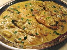 Pork Chop Recipes, Meat Recipes, Chicken Recipes, Cooking Recipes, Savoury Dishes, Mediterranean Recipes, Greek Recipes, Kitchen Recipes, Food To Make