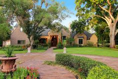 """Handsome Country French home in the """"lake district"""" of Sugar Land only minutes from Houston"""