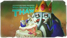 Adventure Time Title Card When Wedding Bells Thaw Marceline, Adventure Time Background, Adventure Time Wallpaper, Adventure Time Episodes, Adventure Time Art, Gumball, Pendleton Ward, Land Of Ooo, Party Songs
