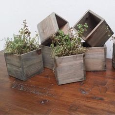 We love @wildoakstudio's rustic reclaimed planters so much we included them in our #Gardening #GiftGuide along with finds from @SophiaVictoriaJoy and other @Etsy Shops! #gardeners #christmas #giftsforher #giftsforhim #giftsforme #flowers #houseplants #plants #rustic #accent #reclaimedwood