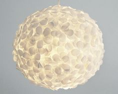 Fabulous Paper Pendant Light yay for friday White Paper Flower Pendant Light
