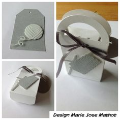 Marianne creatable dies for the big shot Sizzix. Use for a small present.