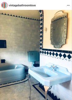 Retro Bathrooms, Sink, Bathtub, Home Decor, Sink Tops, Standing Bath, Vessel Sink, Bathtubs, Decoration Home