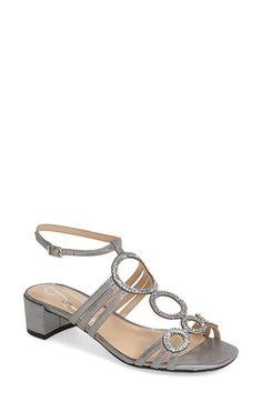 J. Reneé 'Terri' Crystal Embellished Sandal (Women) available at #Nordstrom