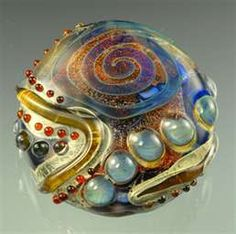 Andrea Guarino Slemmons does awesome lampwork...so enjoyed her class.