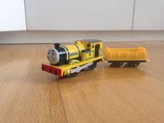 Tomy trackmaster thomas the tank #engine #battery train #yellow rheneas,  View more on the LINK: http://www.zeppy.io/product/gb/2/301962621244/