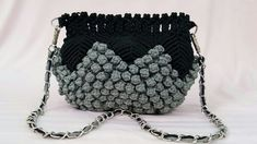 Full Making Tutorial Of Macrame Bag With Bubble Pattern