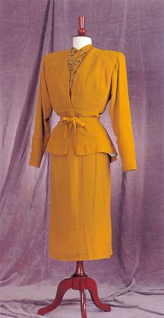 "#Joan Crawford, ""#Mildred Pierce,"" Warner Brothers, 1945, Designed by #Milo…"