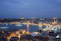Galata kulesinden İstanbul