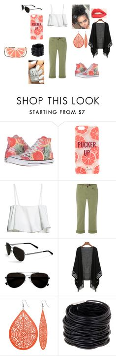 """Experiment...Failed"" by didiluver ❤ liked on Polyvore featuring Converse, Kate Spade, White Stuff, Calvin Klein, Saachi and Color Club"