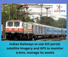 Railways has installed a global positioning system  (GPS) in 2700 electric locomotives and in 3800 diesel locomotive, and it plans to fit the GPS in 6000 locomotives by December 2021, Railway Information, Train Information, Electric Locomotive, Diesel Locomotive, Global Positioning System, Monitor, December, How To Plan, Fit