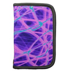 Glowing Blue And Purple Strings Of Light Planners